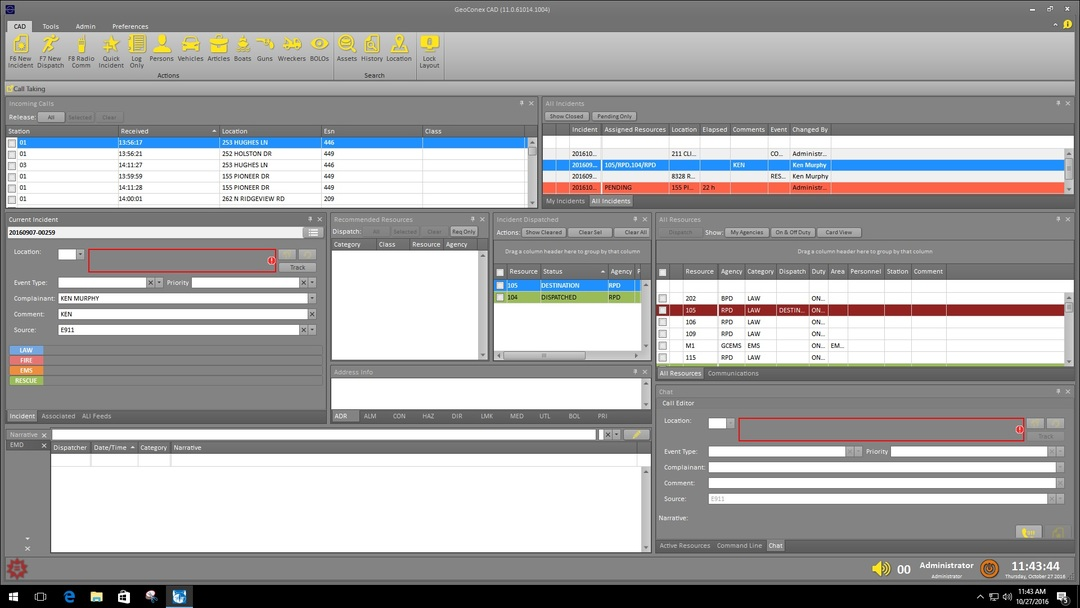 Video- MAX CAD Incident Management Overview